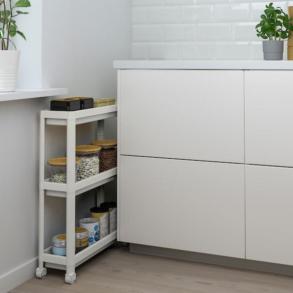 VESKEN Kolica, bijela, 54x18x71 cm