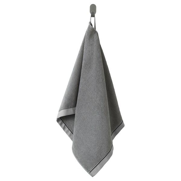 VIKFJÄRD Ručnik za ruke, siva, 50x100 cm