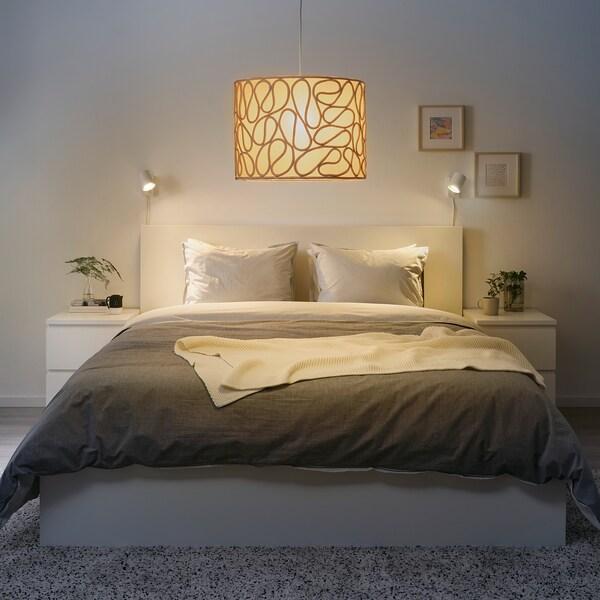 VINGMAST Sjenilo lampe, motiv užeta bež, 42 cm