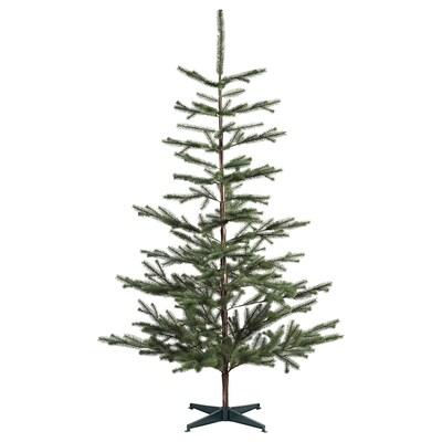 VINTER 2020 Umjetna biljka, u zatvorenom/na otvorenom/božićno drvce zelena, 205 cm