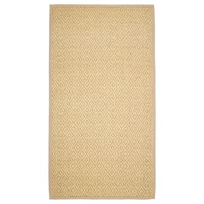 VISTOFT Tepih, ravno tkanje, prirodna boja, 80x150 cm