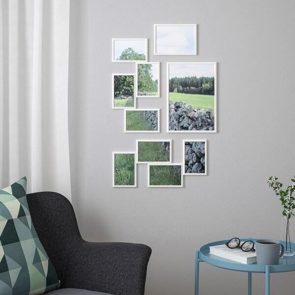 YLLEVAD kolaž, 4 fotografije bijela 21 cm 41 cm