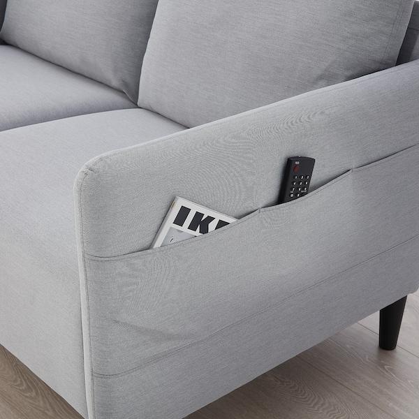 ANGERSBY 2sz. kanapé, Knisa világosszürke