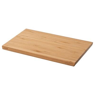 APTITLIG vágódeszka bambusz 24 cm 15 cm 12 mm