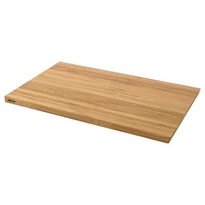 APTITLIG Vágódeszka, bambusz, 45x28 cm