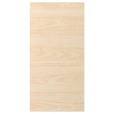 ASKERSUND Ajtó, világoskőris hatású, 40x80 cm