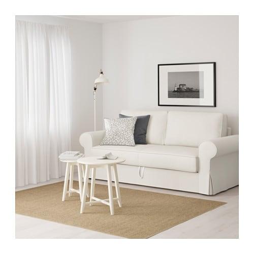 BACKABRO 3 sz. kinyitható kanapé - Hylte fehér - IKEA