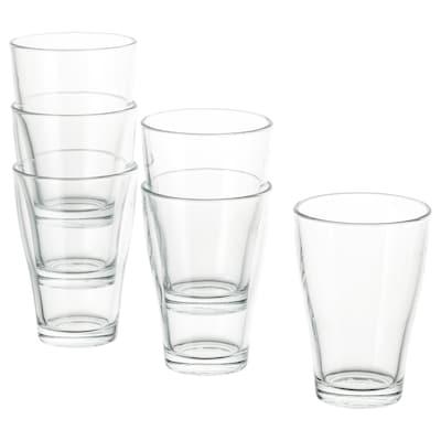 BEHÄNDIG Pohár, átlátszó üveg, 30 cl