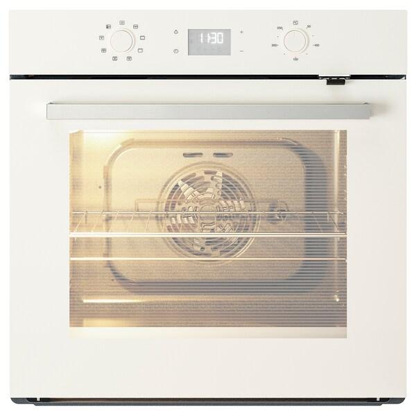 BEJUBLAD Légkeveréses sütő, fehér üveg