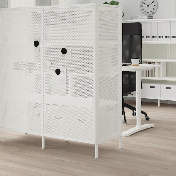 BEKANT Polcos elem, fehér, 121x134 cm