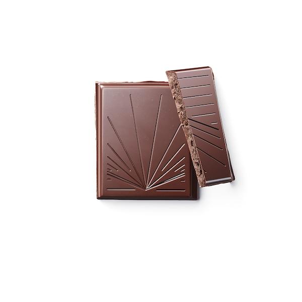 BELÖNING Étcsokoládé tábla 60%, kávéropogós UTZ minősített/bio, 100 gr