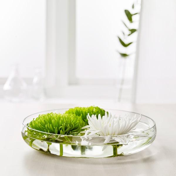 BERÄKNA tál átlátszó üveg 26 cm