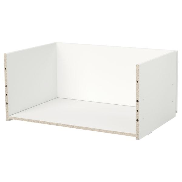 BESTÅ Fiókkeret, fehér, 60x25x40 cm