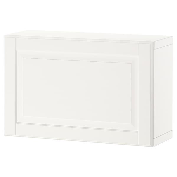 BESTÅ Polcos elem+ajtó, fehér/Smeviken fehér, 60x22x38 cm