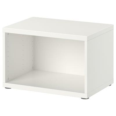 BESTÅ Váz, fehér, 60x40x38 cm