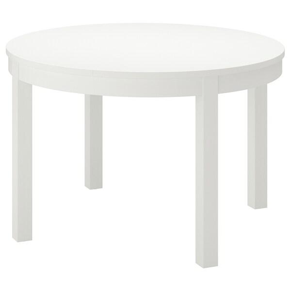 BJURSTA meghosszabbítható asztal fehér 166 cm 74 cm 115 cm