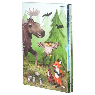 BOKLIG könyv, 3 részes készlet 22.4 cm 3 cm 31.5 cm
