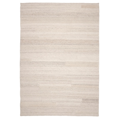 BRÖNDEN Szőnyeg, rövid szálú, kézzel készült bézs, 170x240 cm