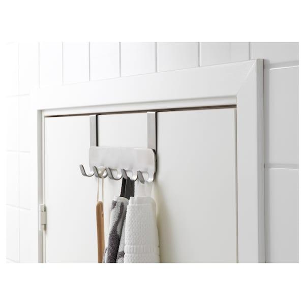 BROGRUND ajtóra tehető akasztó rozsdamentes 2 cm 29 cm 14 cm