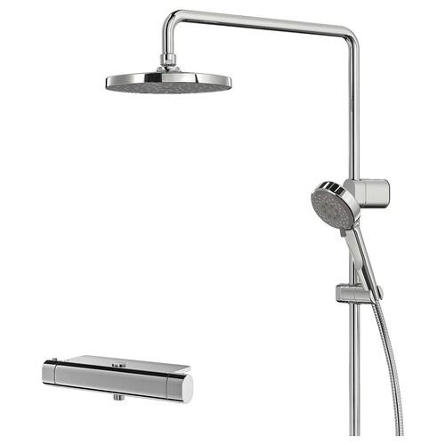 IKEA BROGRUND Zuhanyrendsz+termosztátos csaptelep