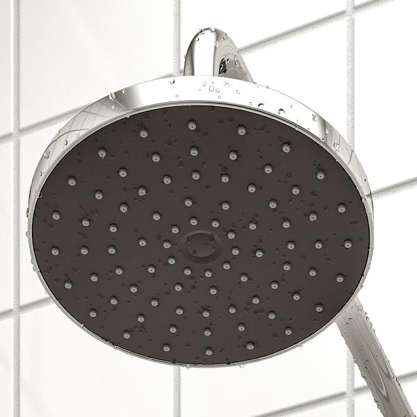 BROGRUND zuhanyrendsz+termosztátos csaptelep krómozott 150 mm 90 mm 200 mm 1500 mm 300 mm 570 mm 1170 mm