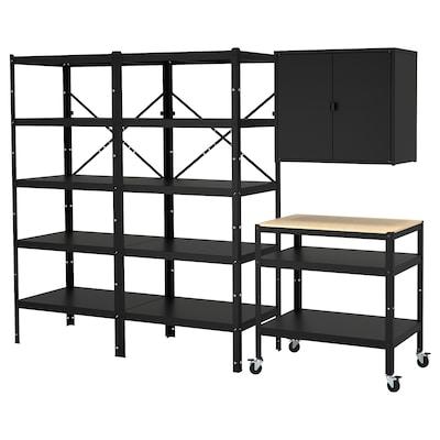 BROR tároló polccal/szekrénnyel/zsúrkocs