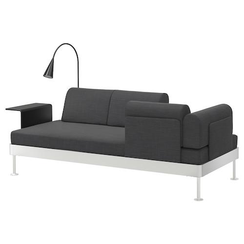 DELAKTIG 3 sz kanapé+asztalka és lámpa Hillared antracit 79 cm 224 cm 84 cm 45 cm 20 cm 200 cm 80 cm 45 cm 10 cm 1.9 m 3.4 W