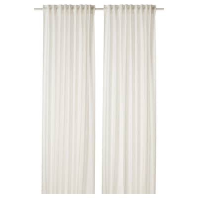DYTÅG Függönypár, fehér, 145x300 cm