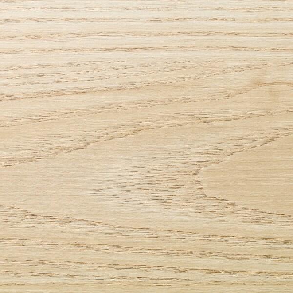 EKBACKEN Rendelésre készült munkalap, kőris hatású/laminált, 45.1-63.5x2.8 cm