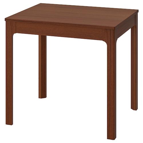 EKEDALEN meghosszabbítható asztal barna 80 cm 120 cm 70 cm 75 cm