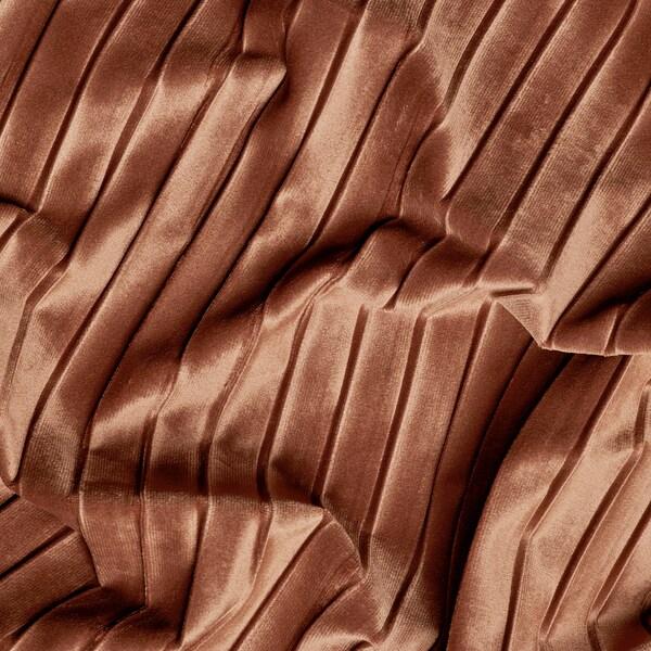 ELDTORN Sötétítőfüggöny, 1 pár, barna, 145x300 cm
