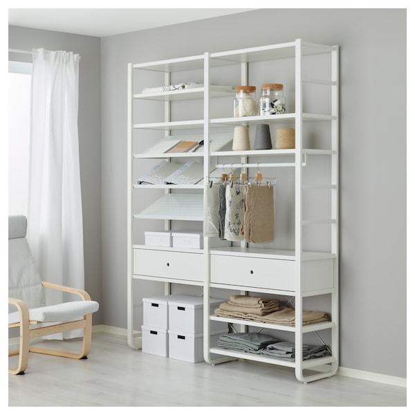 ELVARLI 2 rész, fehér, 165x40x216 cm