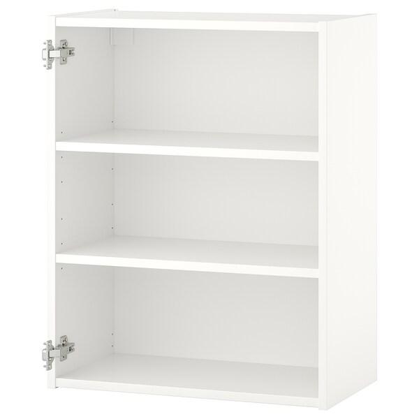 ENHET Fali szekrény 2 polccal, fehér, 60x30x75 cm