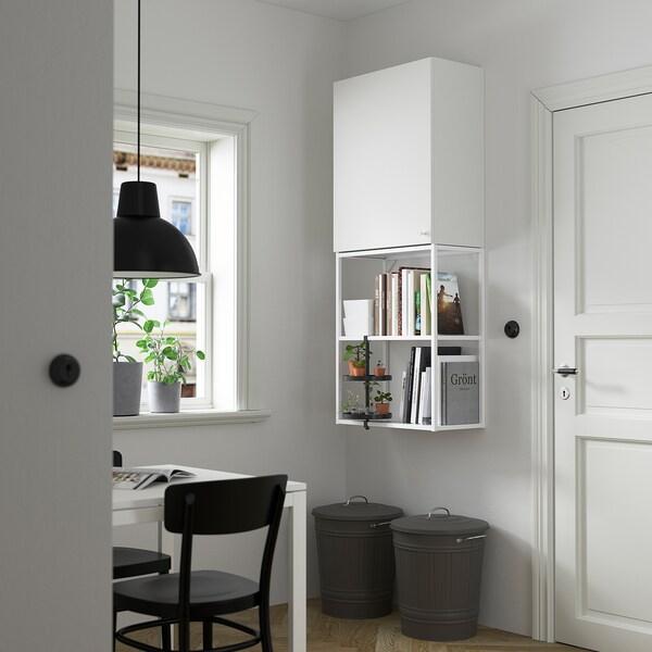 ENHET Fali tárolókombináció, fehér, 60x32x150 cm