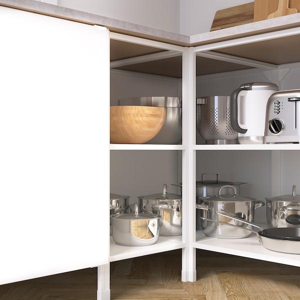 ENHET Sarok konyha, fehér