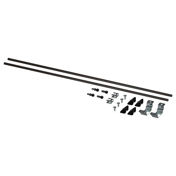 ENHET Szerelőkészlet konyhaszigethet, antracit, 60 cm