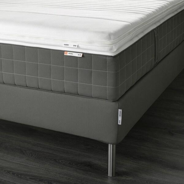ESPEVÄR Dívány, Hövåg közepesen kemény/Tussöy sszürke, 140x200 cm