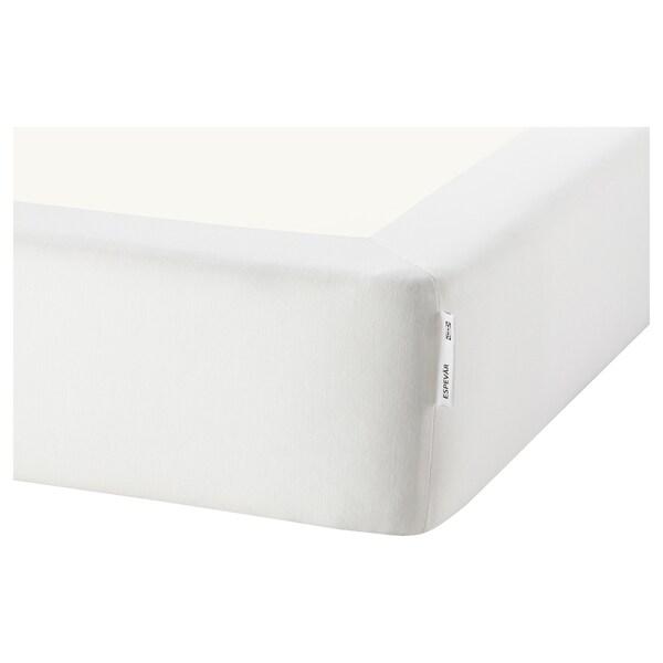 ESPEVÄR Rugós ágyalap, fehér, 140x200 cm
