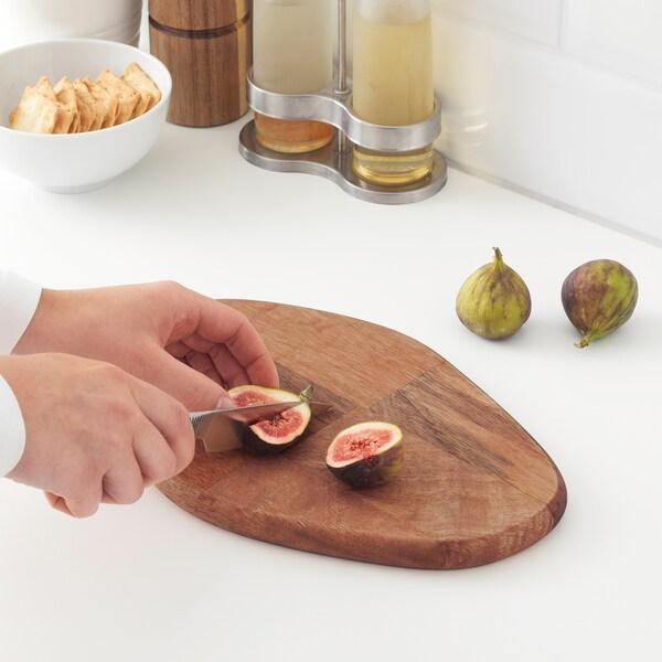FASCINERA vágódeszka mangó fa 28 cm 19 cm 1.8 cm
