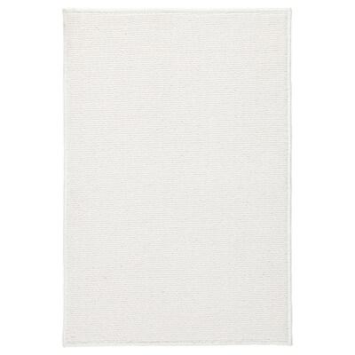 FINTSEN Fürdőszobai szőnyeg, fehér, 40x60 cm