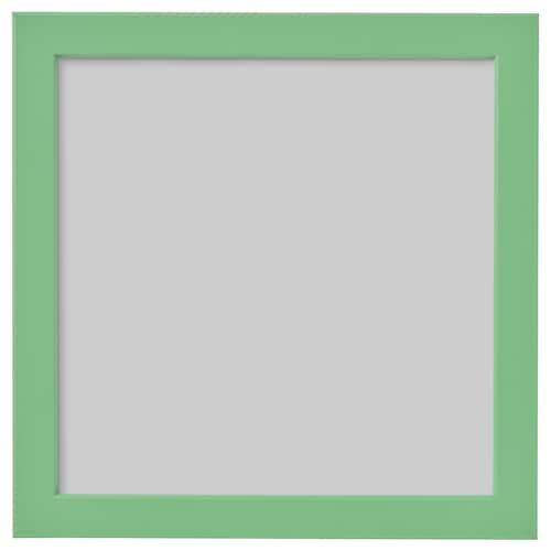 FISKBO képkeret világoszöld 21 cm 21 cm 24 cm 24 cm