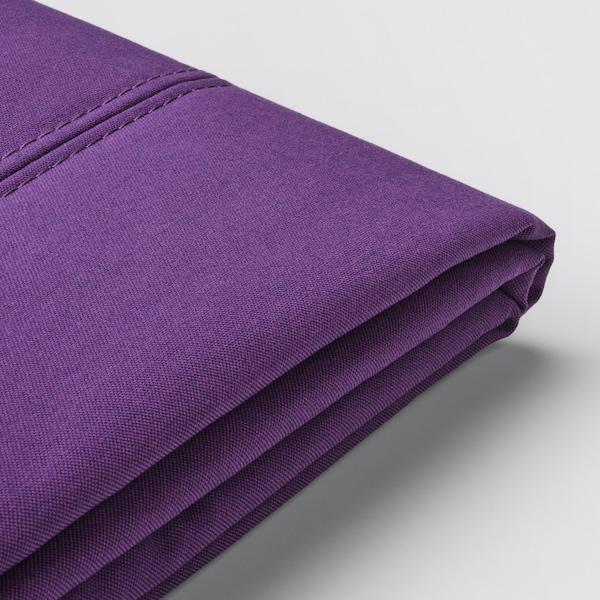 FLOTTEBO Huzat kinyitható kanapéhoz, Vissle lila, 120 cm