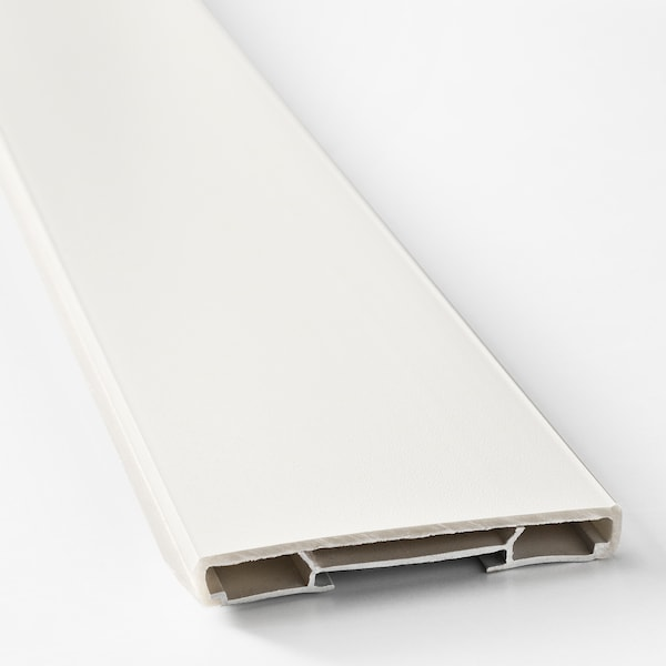 FÖRBÄTTRA lábazat fehér 220.0 cm 8.0 cm 1.0 cm