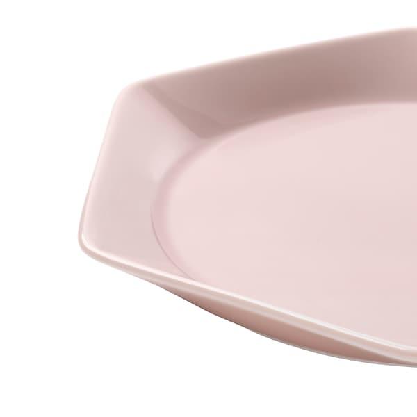 FORMIDABEL Tányér, világos rózsaszín, 22 cm