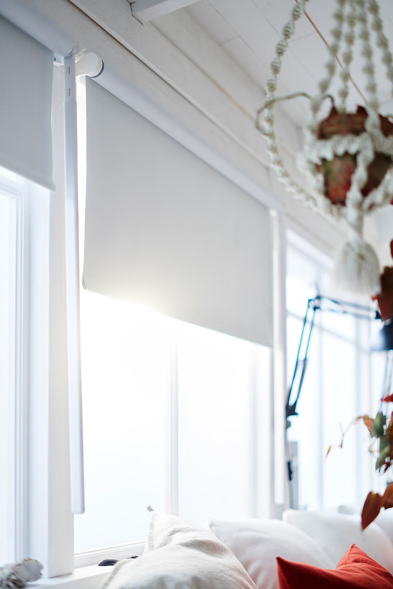 FRIDANS Sötétítő roló, fehér, 100x195 cm