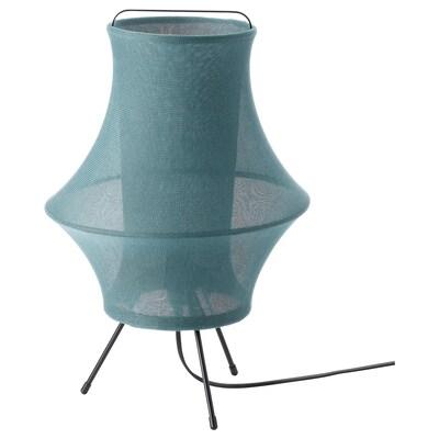 FYXNÄS Asztali lámpa, türkiz, 44 cm