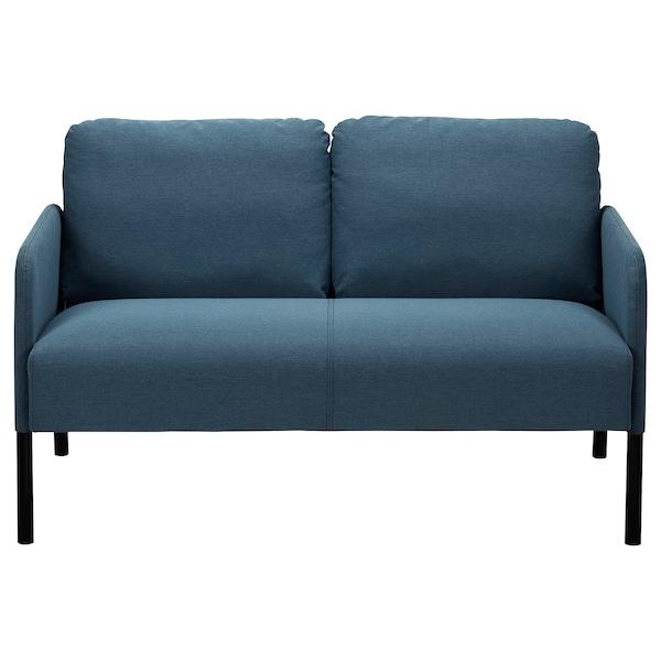 GLOSTAD 2sz. kanapé, Knisa középkék