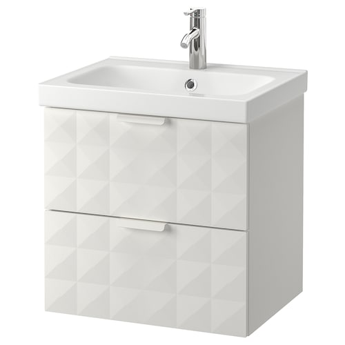 IKEA GODMORGON / ODENSVIK Mosdóállvány 2 fiókkal, csapt. nélk