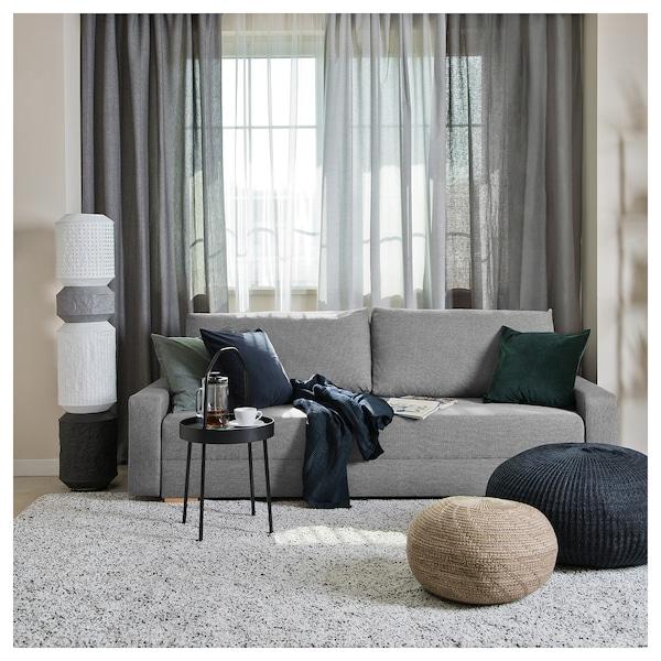 GRÄLVIKEN 3 személyes kinyitható kanapé, szürke