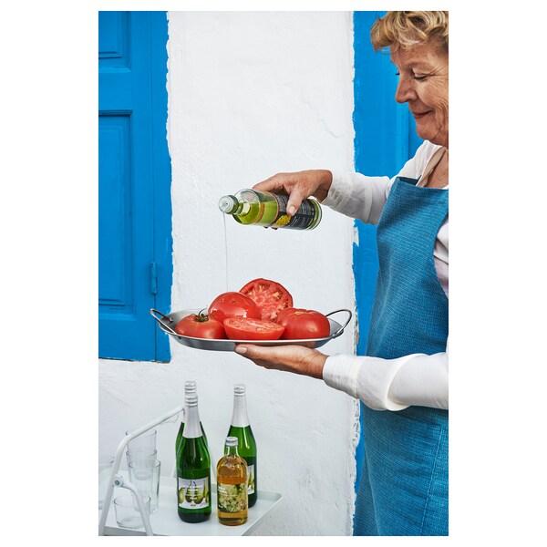 GRILLTIDER Tálca grillezéshez, rozsdamentes, 31x21 cm